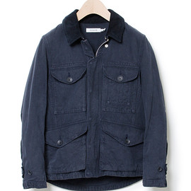 nonnative - LUMBERER JACKET - COTTON DUCK CLOTH navy