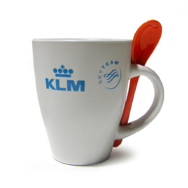 KLM Royal Dutch Airlines - KLM Mug&Spoon