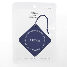 retaW, fragment design - Fragrance Car Tag FRGMT* navy