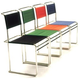 Marcel Breuer - B40 Chairs, Marcel Breuer Design, Canvas in Several Colors, Tecta Editions