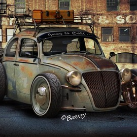 Volkswagen - type1 RAT ROD