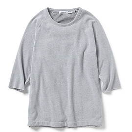 nonnative - DWELLER CREW QS LOOSE-FIT C/P SWEAT
