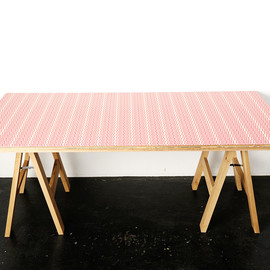 LEMON & SODA JOINT WORKS, FABRICK, karimoku - F/O FOLDING TABLE