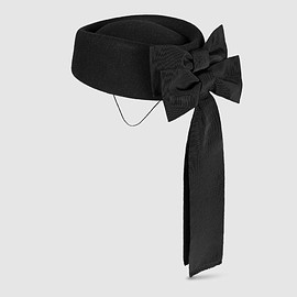GUCCI - Gucci Felt hat with back bow Detail 3