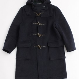 Melton Wool Cropped Duffle Coat