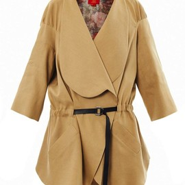 Vivienne Westwood Red label - Linen-blend slouchy coat(Vivienne Westwood Red label)