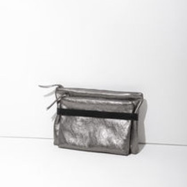 MM6 by Maison Martin Margiela - Metallic Double Clutch
