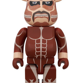 MEDICOM TOY - BE@RBRICK 超大型巨人 400%