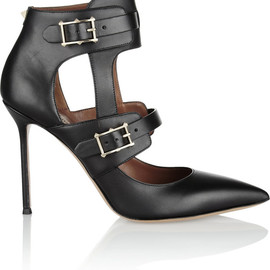 VALENTINO - Hitch On cutout leather pumps
