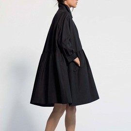 Co - OVERSIZED COAT BLACK