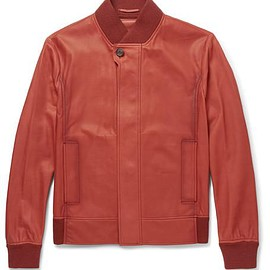 Berluti - Washed-Leather Bomber Jacket