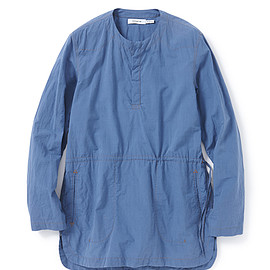 nonnative - RANCHER PULLOVER LONG SHIRT COTTON TYPEWRITER