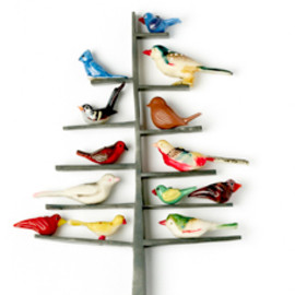 Grainne Morton - bird tree brooch