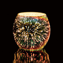 kameyama candle house - COSMIC SPHERE CANDLE HOLDER