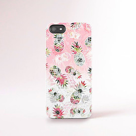csera - Pineapple iPhone 6 Case Pineapples iPhone Case Summer iPhone Cases Trending 2015 Pink Pastel