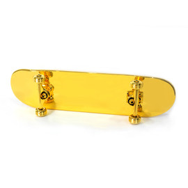 SHUT - V3 GOLD PLATED SKATEBOARD