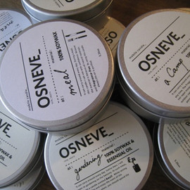 OSNEVE_ - Natural SOY Candle