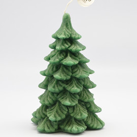 eye candle - 【eye candle studio】PINE TREE CANDLE(GREEN)