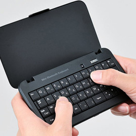 ELECOM - Elecom-TK-FBP029BK-Bluetooth-Wireless-Keyboard