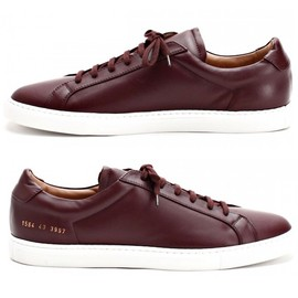 Common Projects - Common Projects Winter Sneakers Burgundy