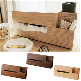 cocoshi - WOOD TISSUE CASE