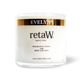 retaW - EVELYN*  FRAGRANCE CANDLE