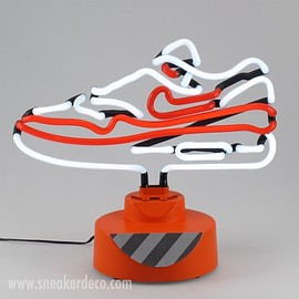 SNEAKER DECO - AIR MAX 1 OG RED TABLE TOP NEON LAMP - LIMITED EDITION