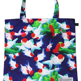 MEDICOM TOY - MLE M / mika ninagawa シリーズ『GOLDFISH』 SIMPLE TOTE BAG