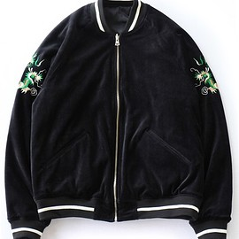 GOOD OL' - Velour Suvenir JKT (black)