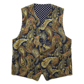 Engineered Garments - REVERSIBLE VEST - Paisley