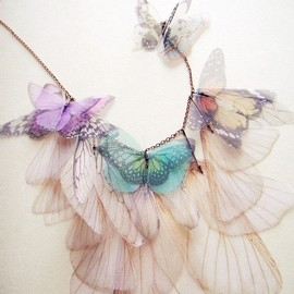 Fluttery Butterfly Necklace