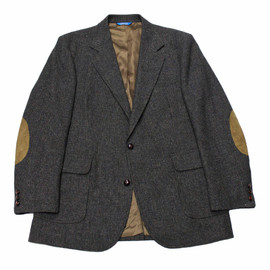 PENDLETON - Vintage Pendleton Pure Virgin Wool Jacket with Elbow Patches Mens Size 42L