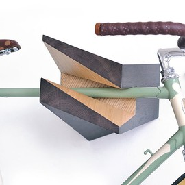 Woodstick - Iceberg Wooden Bike Hanger by Woodstick