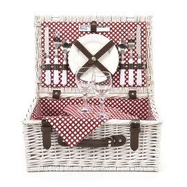 Optima Picnic - Optima Polka Dot 2 Person Basket