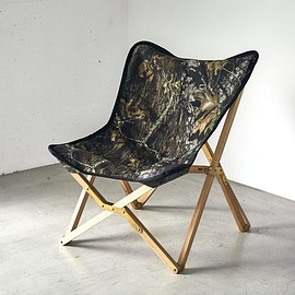 Ballistics, CielBleu - BSPC-005 (Flourish Chair) - Real Tree Camo