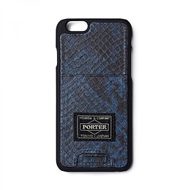 "HEAD PORTER - ""ADDER"" iPhone 6s CASE NAVY"