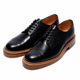 bal, SANDERS - CAP TOE OXFORD by SANDERS