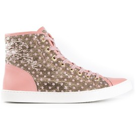RED VALENTINO - polka dot trainer