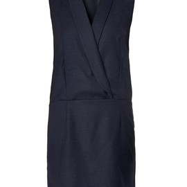 MM6, Maison Martin Margiela - Tux-style wrap dress