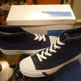 "PRO-Keds - 「<used>90's PRO-Keds ROYAL HI navy""made in COLUMBIA"" W/BOX size:US8/h(26.5cm) 12800yen」販売中"