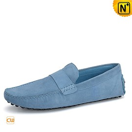 cwmalls - Mens Leather Driving Loafers Penny Shoes CW715016