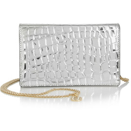 STELLA McCARTNEY - Grace metallic faux leather shoulder bag