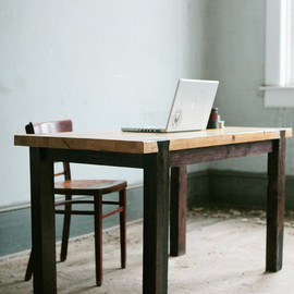 KithandKinStore - Dovetail Work Table - Modern Industrial Desk