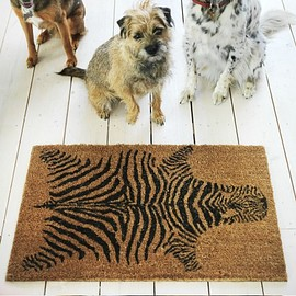 Graham and Green - Zebra Doormat