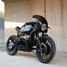 Federal Moto - 'The Five'  BMW R100 cafe racer