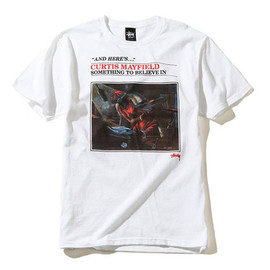 Stussy - Curtis Mayfield Tee - White