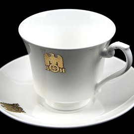 Adolf Hitler tea service Cup and plate
