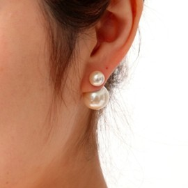 MAYU - PEARL RIVETS 8mm/14mm Cream pearl