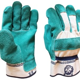 JRC GLOVE COMPANY - 81 Green Leather Palm