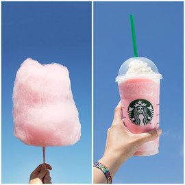 Starbucks Coffee??? - Cotton Candy Frappuccino